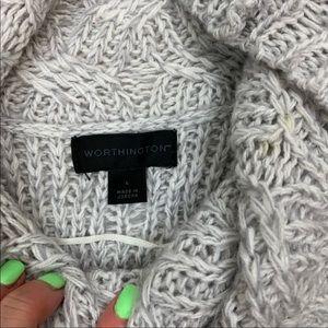 Worthington Dresses - Worthington Cowlneck Short Sleeve Sweater Dress